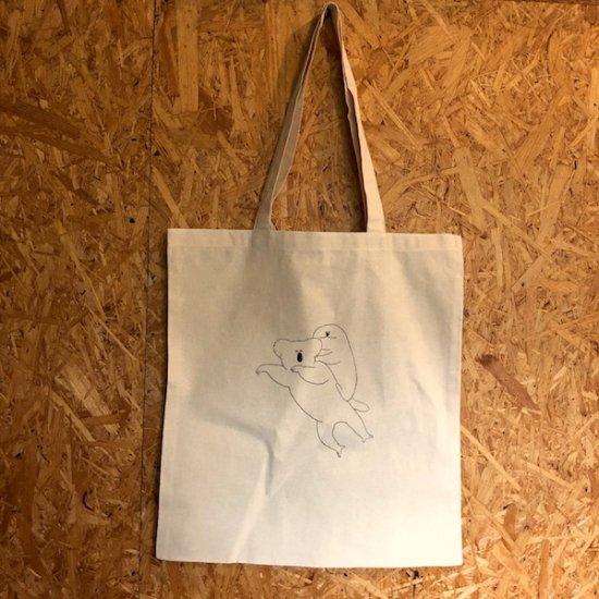 アニマルTシャツ展 トートバッグ おたぐち - FOLK old book store  古本・新本・個人出版本・グッズの販売