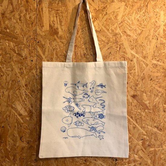 アニマルTシャツ展 トートバッグ ミヤザキ - FOLK old book store  古本・新本・個人出版本・グッズの販売