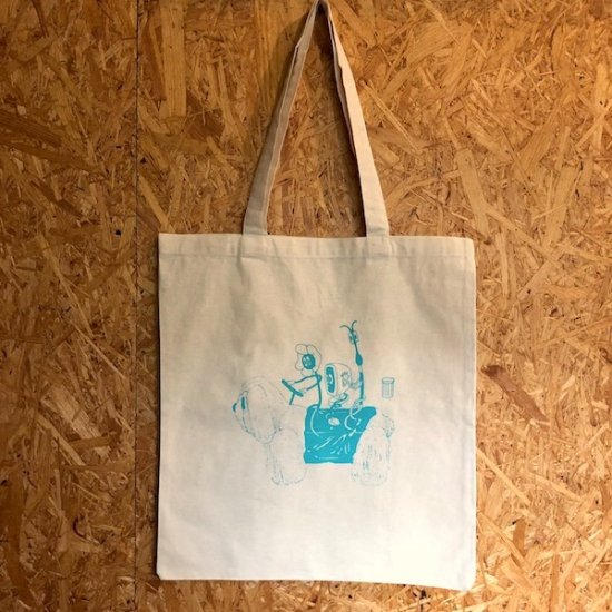 アニマルTシャツ展 トートバッグ 吉川英理子 - FOLK old book store  古本・新本・個人出版本・グッズの販売
