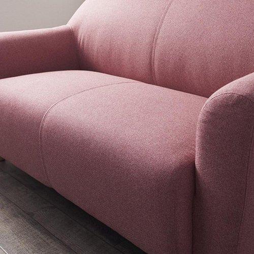 コンパクトで丸みのある可愛いソファ【LNA】2人掛け 【4】