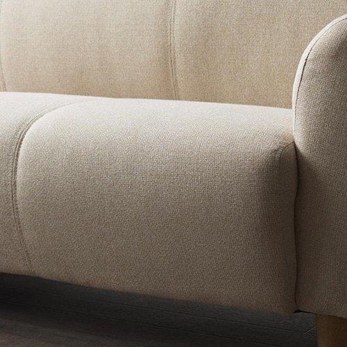 コンパクトで丸みのある可愛いソファ【LNA】2人掛け 【5】
