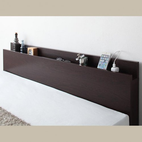 日本製・安心の品質!フランスベッド社製マットレス使用!跳ね上げ式収納ベッド【PTQ】 【13】