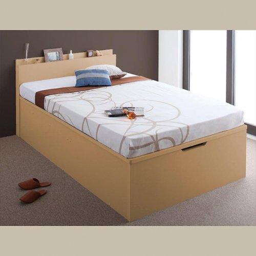 日本製・安心の品質!フランスベッド社製マットレス使用!跳ね上げ式収納ベッド【PTQ】 【5】