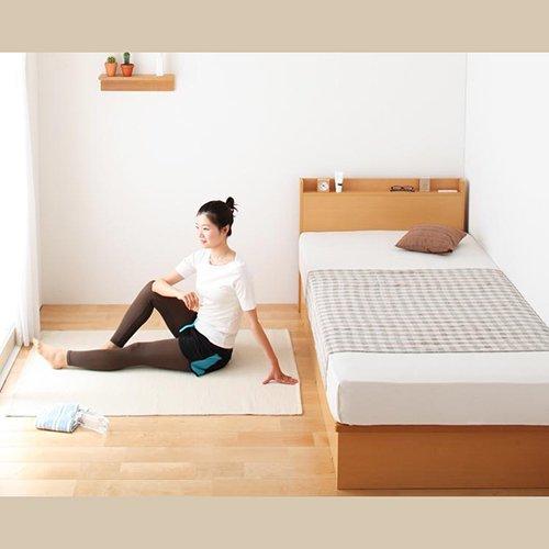 日本製フレーム跳ね上げ式大容量収納ベッド【FRD】(横開き) 【7】