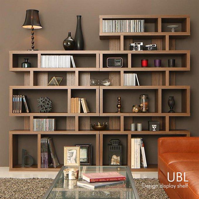 存在感のある壁面収納!ディスプレイ棚【UBL】