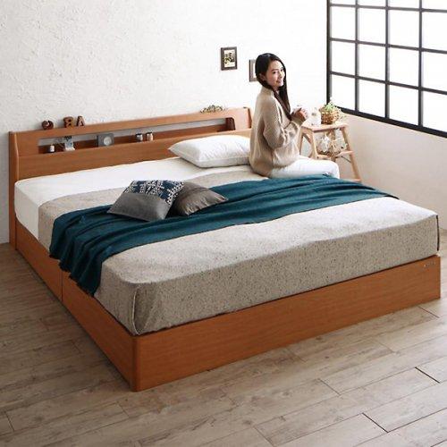 アルダーデザインラージサイズ収納ベッド【HRM】 【2】