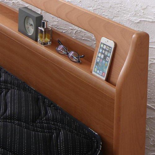 アルダーデザインラージサイズ収納ベッド【HRM】 【11】