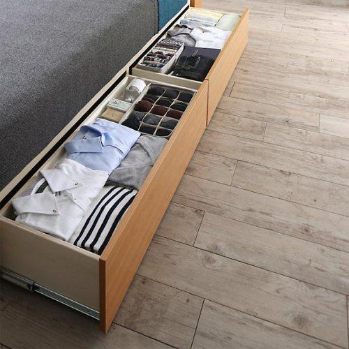 アルダーデザインラージサイズ収納ベッド【HRM】 【12】