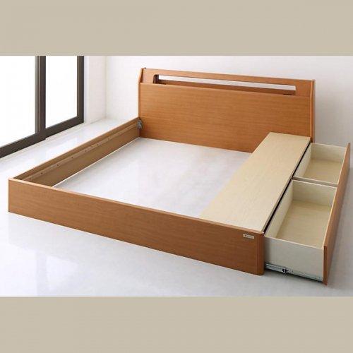 アルダーデザインラージサイズ収納ベッド【HRM】 【15】
