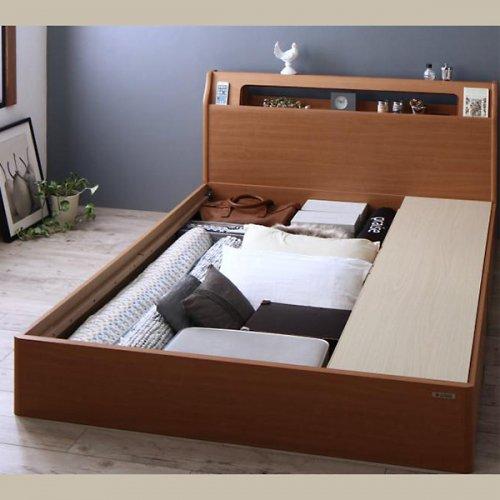 アルダーデザインラージサイズ収納ベッド【HRM】 【16】