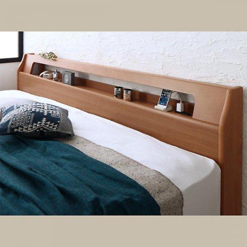 アルダーデザインラージサイズ収納ベッド【HRM】 【4】