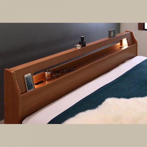アルダーデザインラージサイズ収納ベッド【HRM】 【5】