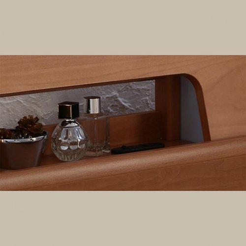 アルダーデザインラージサイズ収納ベッド【HRM】 【6】