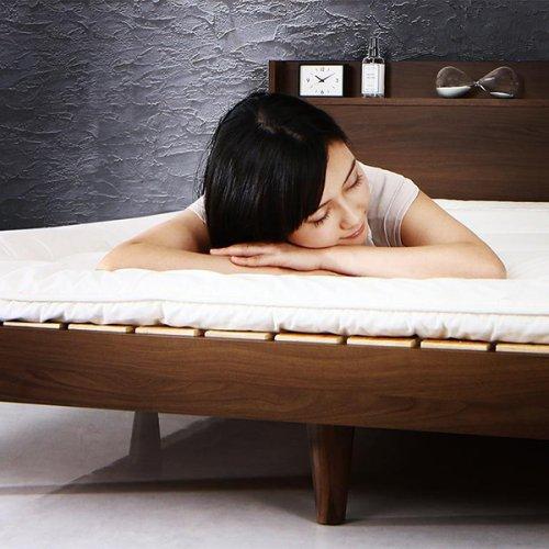 シンプル&スタイリッシュデザインすのこベッド【MGT】 【14】