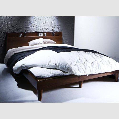 シンプル&スタイリッシュデザインすのこベッド【MGT】 【15】