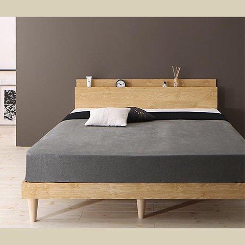 シンプル&スタイリッシュデザインすのこベッド【CMLL】 【2】