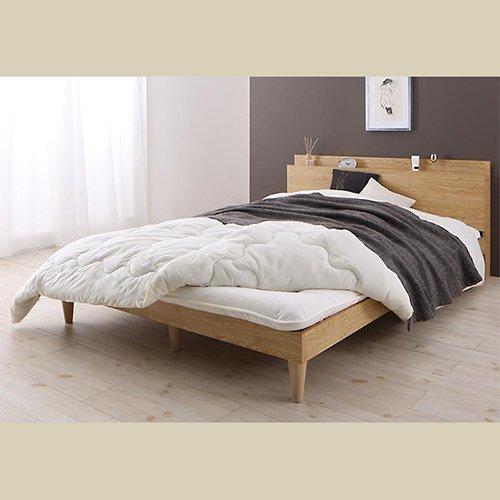 シンプル&スタイリッシュデザインすのこベッド【CMLL】 【11】