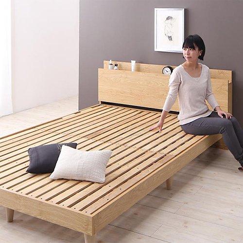 シンプル&スタイリッシュデザインすのこベッド【CMLL】 【10】