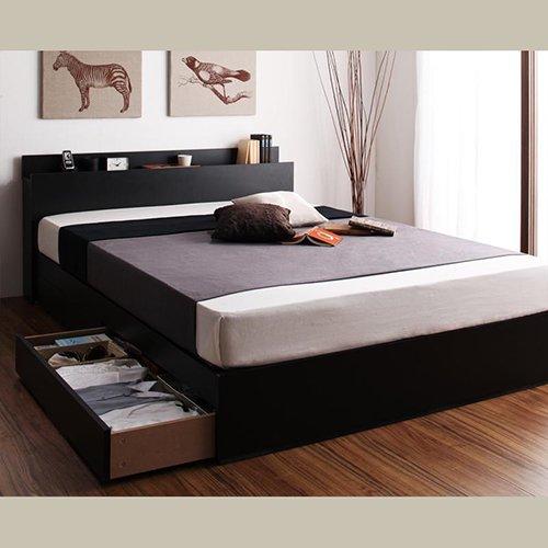 床板が通気性の良いすのこ仕様!6色展開の収納ベッド【GBS】 【3】