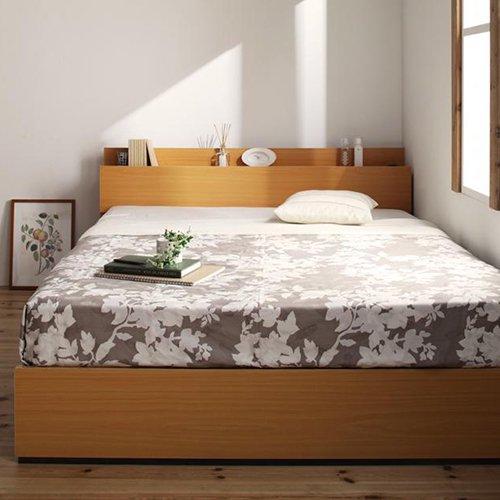 床板が通気性の良いすのこ仕様!6色展開の収納ベッド【GBS】 【6】