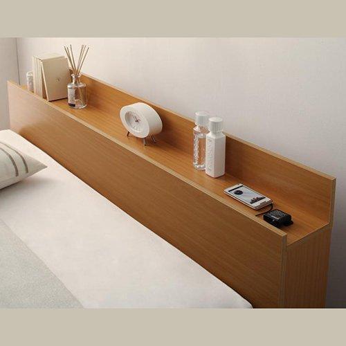 床板が通気性の良いすのこ仕様!6色展開の収納ベッド【GBS】 【7】
