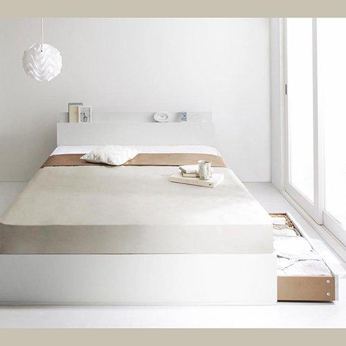 床板が通気性の良いすのこ仕様!6色展開の収納ベッド【GBS】 【10】