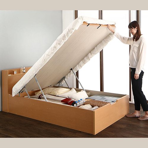 和モダンな畳仕様!大容量収納リフトアップベッド【YIH】 【6】