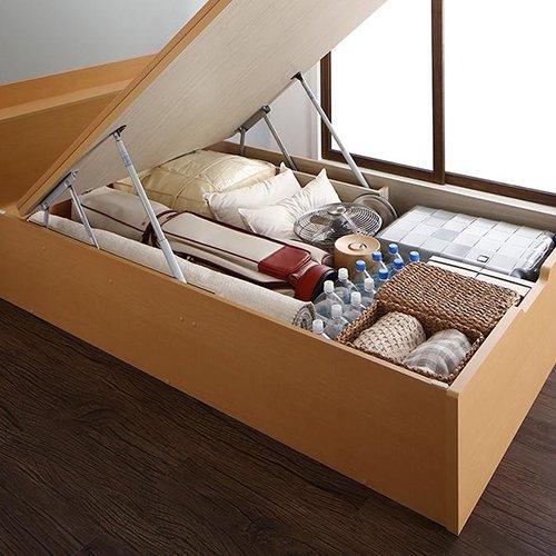 和モダンな畳仕様!大容量収納リフトアップベッド【YIH】 【8】