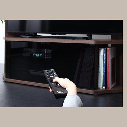 コーナー置き可能!キャビネット付きハイタイプテレビボード【GID】 【7】