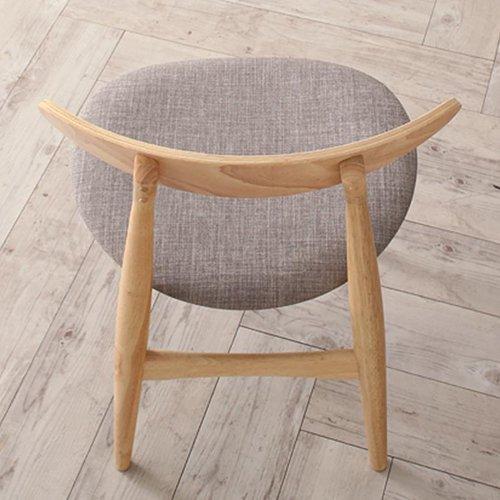 上質感のある北欧風デザイン!ダイニングテーブル5点セット【LRL】 【6】