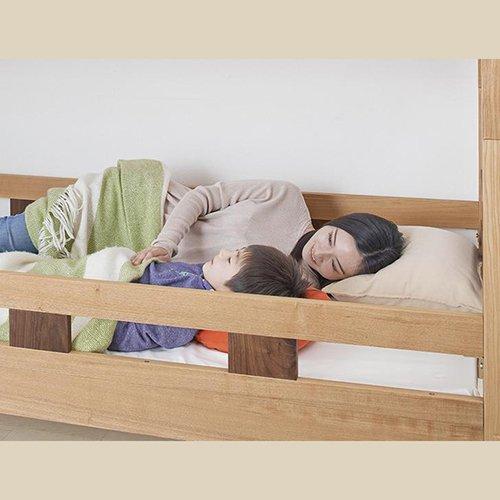 2段ベッドがシングル2台・ワイドキングにもなる!木製マルチベッド【SVN】 【5】