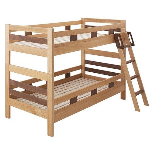 2段ベッドがシングル2台・ワイドキングにもなる!木製マルチベッド【SVN】 【9】