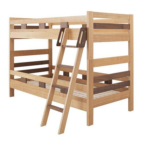 2段ベッドがシングル2台・ワイドキングにもなる!木製マルチベッド【SVN】 【10】