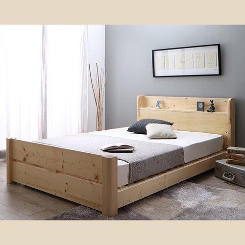 床面の高さ調節が可能!オール天然木すのこベッド【ISR】 【2】