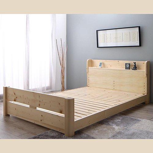 床面の高さ調節が可能!オール天然木すのこベッド【ISR】 【10】