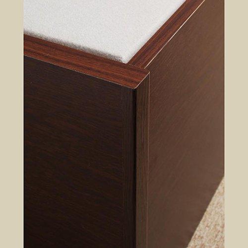 日本製・安心の品質!大容量収納チェストベッド【STE】(ヘッドボード付き) 【19】