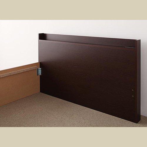 日本製・安心の品質!大容量収納チェストベッド【STE】(ヘッドボード付き) 【21】