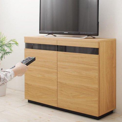 収納たっぷり!薄型ハイタイプテレビボード【RVR】 【11】