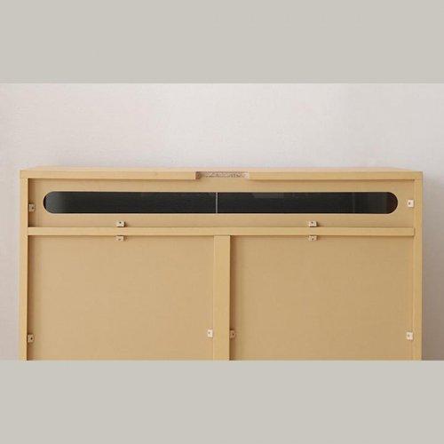 収納たっぷり!薄型ハイタイプテレビボード【RVR】 【10】