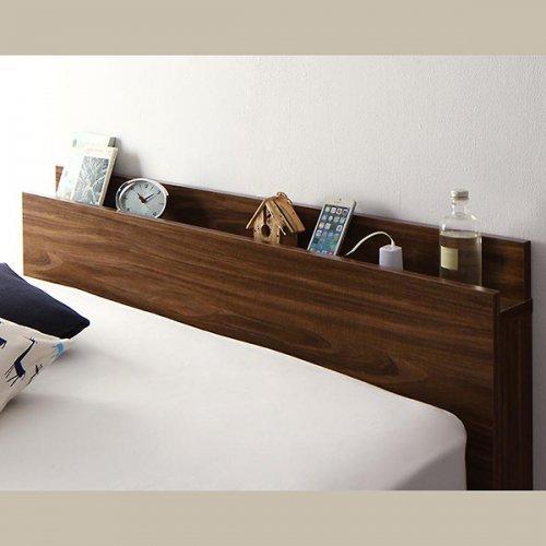 通気性のある床板!跳ね上げ式大容量収納ベッド【NKL】 【14】
