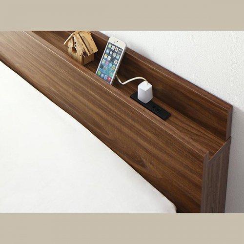 通気性のある床板!跳ね上げ式大容量収納ベッド【NKL】 【16】