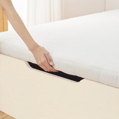 通気性のある床板!跳ね上げ式大容量収納ベッド【NKL】 【19】