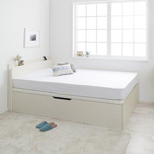 通気性のある床板!跳ね上げ式大容量収納ベッド【NKL】 【24】