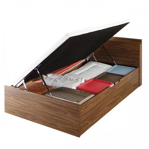 通気性のある床板!跳ね上げ式大容量収納ベッド【NKL】 【7】