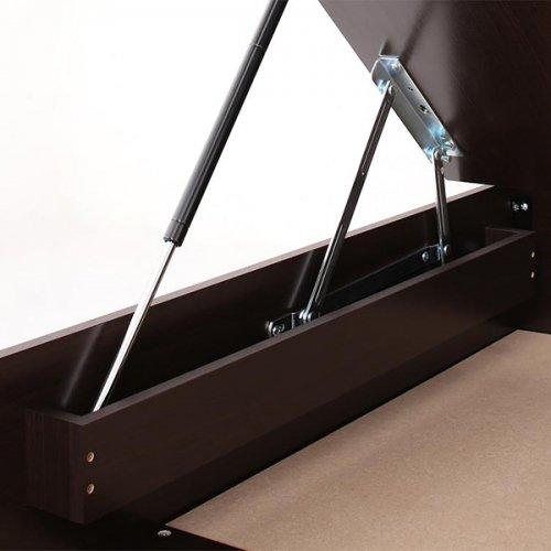 ワイドサイズ跳ね上げ式大容量収納ベッド【NTL】 【11】