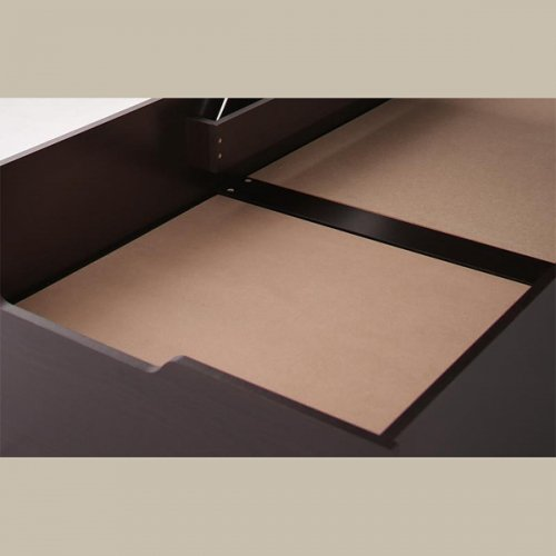 ワイドサイズ跳ね上げ式大容量収納ベッド【NTL】 【12】