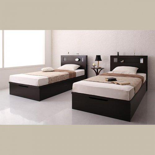 ワイドサイズ跳ね上げ式大容量収納ベッド【NTL】 【3】
