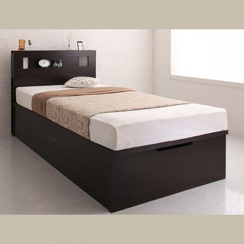 ワイドサイズ跳ね上げ式大容量収納ベッド【NTL】 【5】