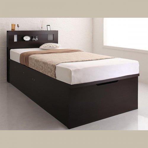 ワイドサイズ跳ね上げ式大容量収納ベッド【NTL】 【6】