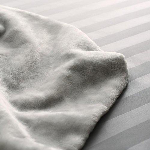 モダンなストライプデザインカバー付き!プレミアムこたつ布団セット【BDK】 【17】